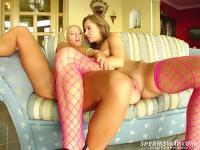 Naomi & Bibi Fox - SpermSwap